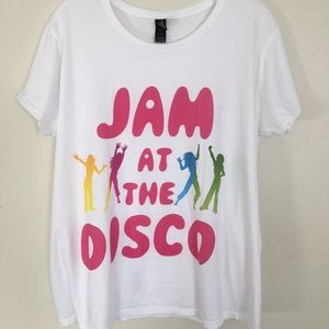"Anvil Graphic Tee "" Jam at the Disco"" Size XL"